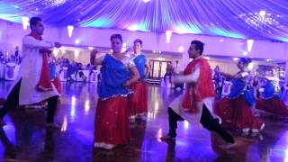 Bollywood at Indian-El Salvadorean Wedding Reception