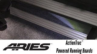 In the Garage™ with Total Truck Centers™: ARIES ActionTrac™ Powered Running Boards