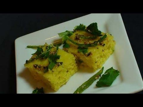 How to make Sooji Dhokla – Indian Appetizer Video Recipe