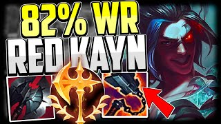 EASY 82% WINRATE RED KAYN JUNGLE GUIDE FOR BEGINNERS - Kayn Guide Season 11 League of Legends
