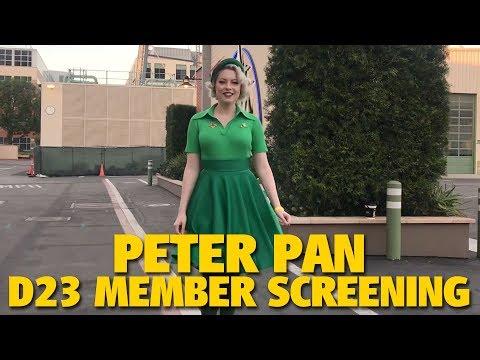 Peter Pan D23 Member Screening   Walt Disney Studios