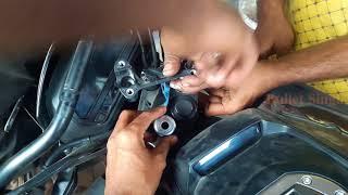 How To Install Handlebar Riser For Dominar 400 - Bullet Singh Boisar