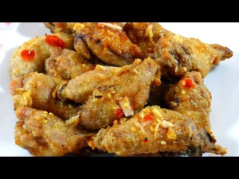 Fish Sauce Chicken Wings – Canh ga chien nuoc mam
