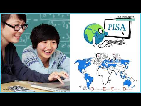[KICE Video Report] What are the Performance Characteristics of Korean Students in the Results of the International Comparison Study? 동영상표지