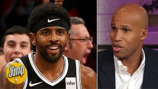 Richard Jefferson defends Kyrie Irving: He's never been in trouble in his life | The Jump
