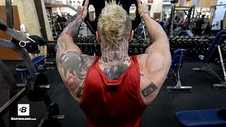 Chest & Shoulders Workout | Day 30 | Kris Gethin's 8-Week Hardcore Training Program by Bodybuilding.com