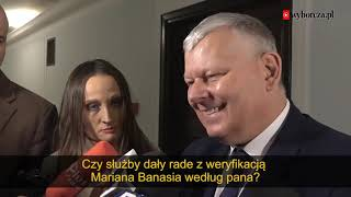 """Suski o sprawie Banasia : """"Bardziej szokują mnie urodziny Hitlera w TVN"""""""