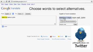 Google Translate voice recognition in Chrome in 60sec