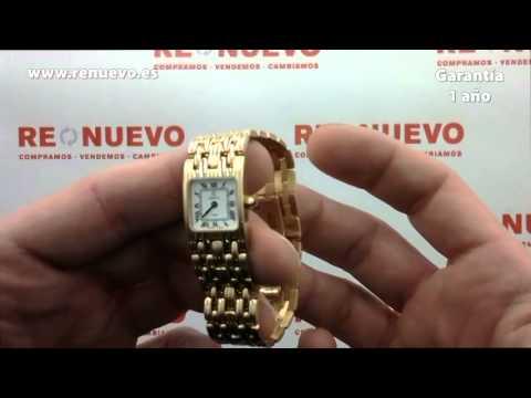 Reloj CRISTIAN LAY de oro de 18 kilates con zafiro de segunda mano D1014