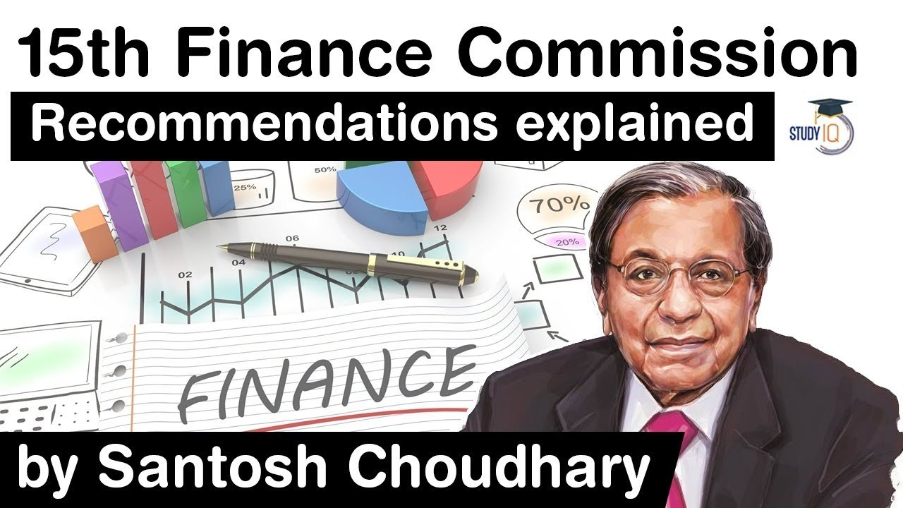 15th Financing Commission Recommendations - Secret suggestions in the report for 2021-26 #UPSC #IAS thumbnail