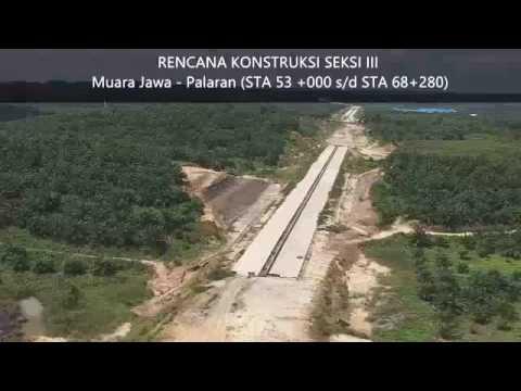 Profil Jalan Tol Balikpapan Samarinda