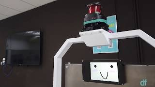 Mak Cik Kiah 19, a delivery robot for hospital usage to fight COVID-19 in Malaysia Video