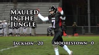 Jackson Memorial 20 Moorestown 0 | Central Group 4 Quarterfinal | Big Play Jags Earn Playoff Shutout