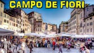 Market at Piazza Campo de'Fiori, Rome