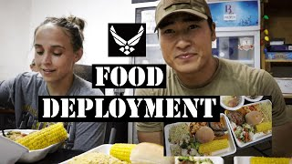 USAF Deployment Food (Breakfast, Lunch, Dinner) Military Deployment Dining With Security Forces