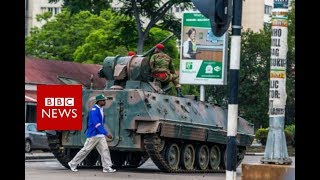 Zimbabwe army takeover: Latest Updates - BBC News - Video Youtube