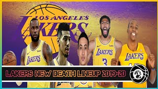 Los Angeles Lakers New Starting Five (Plan A)