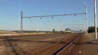 162.035-0 DKV Praha a 6. jednotka railjet na reprofilaci kol a reko vůz WLABmee