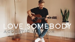 Lauv - Love Somebody (Acoustic Cover by Jonah Baker)
