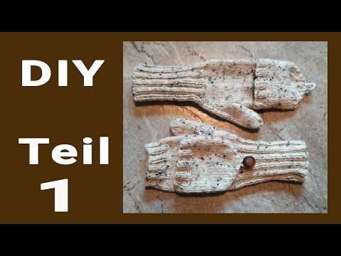 DIY • Marktfrauen-Handschuhe stricken   #1  * Julebuergerfee