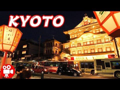 KYOTO KAMO RIVER TO YASAKA SHRINE NIGHT WALKING 2019 - 4K 60FPS HDR