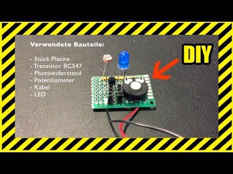 Dämmerungsschalter - selber bauen - DIY