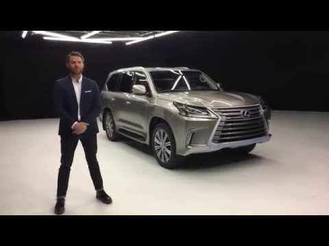 2016 Lexus LX 570 Live walkaround