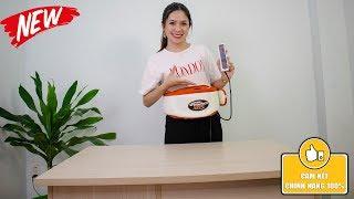 Video đai massage giảm mỡ bụng Vibroshape KW-0286C hàng chính hãng