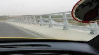 preview picture of video 'Crossing the new Transgambia Bridge (Soma - Farafenni The Gambia)'