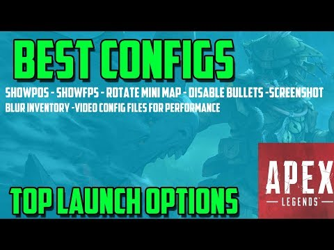 Top Apex Legends Launch Commands for Extra features and Performance