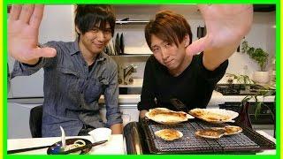 JunsKitchenのJunさんと男料理!【ホタテのさばき方】