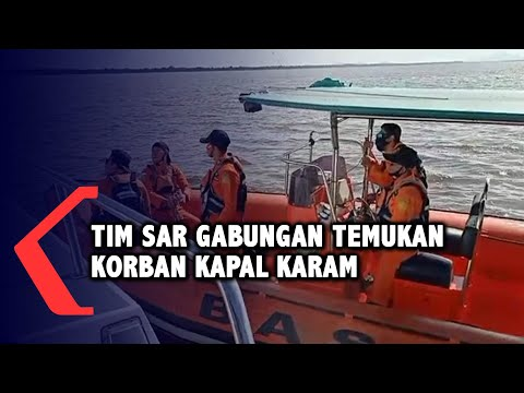 tim sar gabungan temukan korban kapal karam di sungai sambas