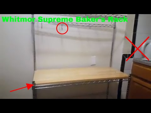 ✅  How To Use Whitmor Supreme Baker's Rack Review