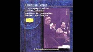Tchaikovsky - Concerto Pour Violon D Major Op.35 Karajan Philharmonique De Berlin 1965