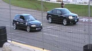 Turbo Civic vs Avenger At Motoplex King Of The Hill June 12 2010