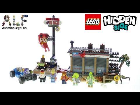 Vidéo LEGO Hidden Side 70422 : Le restaurant hanté