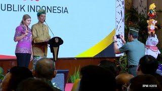 Lancar Ucapkan Pancasila, Wanita Asal Bali Memilih Berfoto dengan Jokowi daripada Hadiah Sepeda