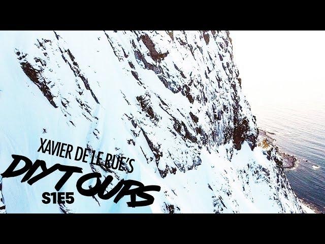 """Xavier De Le Rue's DIY Tour: Sea Kayak Approach to the """"Godmother"""" Couloir   S1E5"""