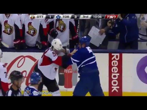 Roman Polak vs. David Dziurzynski