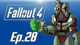 Delirious plays Fallout 4! Ep. 28 (Atom Cats Garage!) Shark Paint!