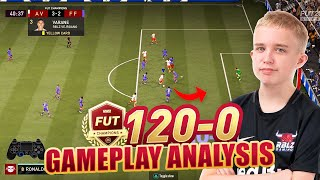 THIS 14-YEAR OLD BOY HAS NOT LOST IN FUT CHAMPS YET - ANDERS VEJRGANG GAMEPLAY BREAKDOWN (FIFA 21)