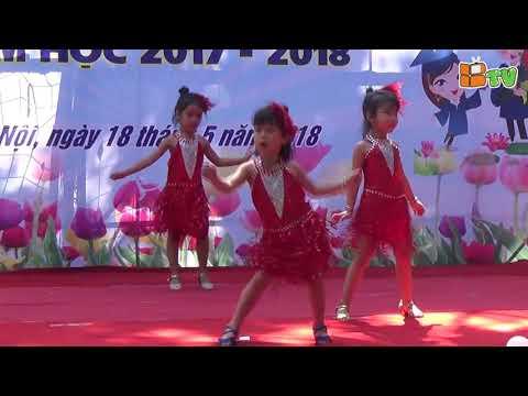 Bế Giảng Mầm Non 2017-2018:Múa xinh tươi Việt Nam; biểu diễn: lớp Doremon 2