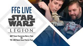 Star Wars™ Legion: AAT and TX-130 Battle Tanks