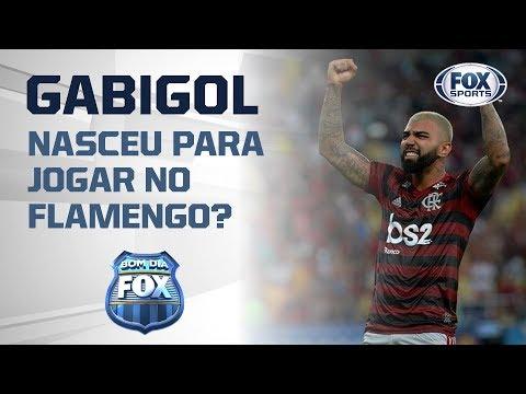 Gabigol nasceu para jogar no Flamengo?