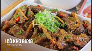 Cách Nấu BÒ KHO GỪNG Ngon Tuyệt Cho Ngày Mưa Se Lạnh   Cooky TV