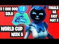 Fortnite World Cup WEEK 5 Highlights - Final Na East SOLO Part 3 [Fortnite Tournament 2019]