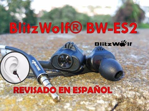 BlitzWolf® BW-ES2, EN ESPAÑOL, DUAL DINAMIC DRIVER UNBOXING Y REVISADO A FONDO.