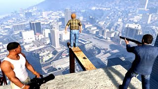 GTA V Franklin And Michael Kills Lester