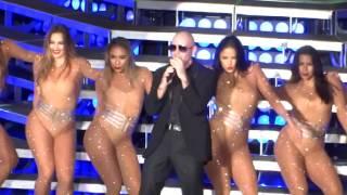 Pitbull - Intro - Que no pare la fiesta-- Live at Mountain View, Ca