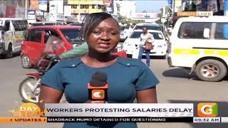 County workers strike in Nakuru county